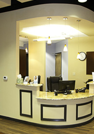Dental Office Interior, Dentist in Raleigh, NC